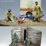 1/35 Two Men in NBC Suits