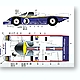 1/24 Porsche 956 #1/2/3 Works Le Mans 1983 Decals