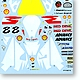 1/12 Honda NSR500 Shell WGP 2001 Decals