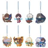 Granblue Fantasy: Clear Rubber Strap -000- What Makes the Sky Blue? Part.III-: 1 Box (8pcs)