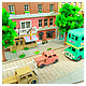 1/220 Miniatuart Kit Studio Ghibli Series : Koriko Town