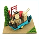 Miniatuart Kit Studio Ghibli Series : Gihibli Relocation