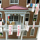 1/150 Miniatuart Kit Studio Ghibli Series From Up on Poppy Hill: Quartier Latin