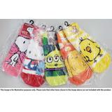 Mokkomoko Socks Sanrio Hello Kitty Border Ladies 23-25cm