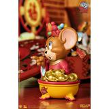 Tom and Jerry - Jerry God of Wealth Benzaiten Vinyl Figure