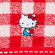 Hello Kitty: Imabari Bath Towel (Checkered Pattern)