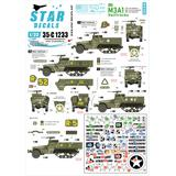 1/35 US M3A1 Halftracks 75th-D-Day-Special Normandy and France in 1944