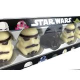 Star Wars Chocolate Set S (Darth Vader & Stormtroopers)