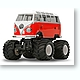 1/12 RC Volkswagen Type 2 (T1) Wheelie