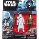 Star Wars Basic Figure 2 Pack Poe Dameron & First Order Snow Trooper Officer