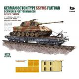 1/35 German Heavy Freight Car 80T Ssyms Type Early Type