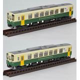 1/150 Train Collection Hitachinaka Seaside Railway KiHa 3710 Series 2 Cars Set