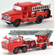 1/150 The Truck Collection: Firefighting Pump Car & Fire Ladder Truck