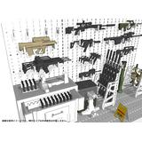 1/12 Little Armory (LD031) Weapons Room B