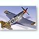 1/72 P-51D Mustang IV Checker Tail Clan