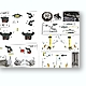 1/12 2009 Yamaha YZR-M1 #99 Super Detail Set (for Tamiy