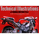 Technical Illustrations of Honda Motorcycle