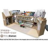 Artty Station Opera Brush Organizer & Paint Platte Storage