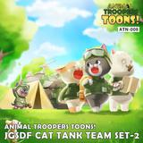 JSGF Ground Self-Defense Force Cat Tank Crew Part 2 Let's Go! (5 Figures)