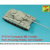 1/35 British 120mm L1A1 barrel for FV214 Super Conqueror Mark I (for Amusing Hobby models)