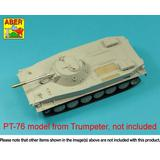 1/35 76,2 mm D-56T barrel for Russian PT-76 mod.1951 (for Trumpeter)