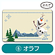 Frozen Mini Message Card Olaf