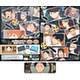 Haikyuu!! - Second Season Long Can Badge Collection Storage Album