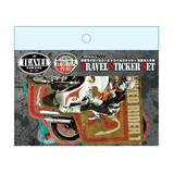 Kamen Rider Series Travel Sticker Operation Yoshihito Sugahara Limited Edition (5pcs)