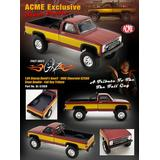 1/64 ACME Exclusive Stacey David's GearZ Stunt Double 1986 Chevrolet K2500 Fall Guy Tribute