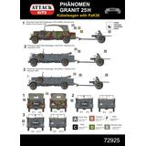 1/72 Phanomen Granit 25H Kubelwagen with PaK 36