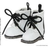 1/12 3 Hole Boots White x Black