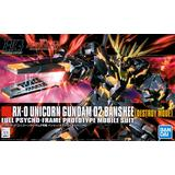 1/144 HGUC RX-0 Unicorn Gundam 02 Banshee (Destroy Mode)