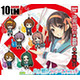 The Melancholy of Haruhi Suzumiya: Harebare Rubber Mascot: 1 Box (8pcs)