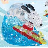 Crystal Puzzle: Snoopy Surfing 40pcs