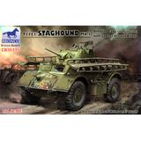 1/35 T17E1 Staghound MK.1 (Late Production) with 12 feet Assault Bridge