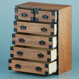 1/12 Japanese Chest of Drawers (Large)
