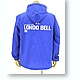 Londo Bell Hooded Wind Breaker Blue x White XL