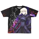 Fate/stay night: Heaven's Feel: Saber Alter Double-sided Full Graphic T-shirt - M