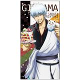 Gintama: Gin-san Sakura Pancake and Latte Art Ver. 120cm Big Towel