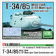 1/35 T-34/85 D-5T Turret Conversion Set Late (for Academy)