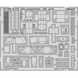 1/48 B-17G Radio Compartment Photo-Etched Parts (for HK Models)