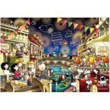 Snoopy: Luminescent Puzzle Snoopy - Fireworks 300pcs
