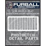 1/48 AN/ALE-45,47 Chaff/Flare Dispensers Photo-Etched Parts