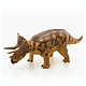 Triceratops Vinyl Model Brown