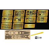 1/700 German Navy Battleship Bismarck  Photo-Etched Parts Set (for Trumpeter 05711)