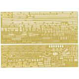 1/700 Warship Next IJN Battleship Kii Photo-Etched Parts (w/Ship Name Plate)