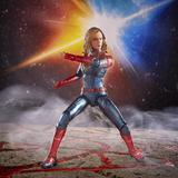 Marvel - Hasbro Action Figure: 6 Inch: Legends - Captain Marvel Series 1.0: #01 Captain Marvel (Movie Version)