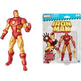 Marvel - Hasbro Action Figure: 6 Inch: Super Heroes Vintage - Series 1.0: #01 Iron Man