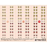 1/12 Customized Eye Decal 3-A (1pc) (CYD-03A)