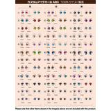1/12 10-C Custom Eye Decals (1pcs)